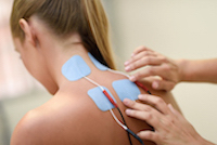 Electro stimulation service in physical therapy